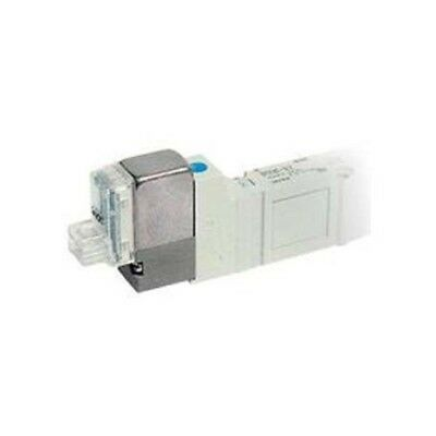 SMC SY5545-5FU-Q 5 Port Solenoid Valve, Plug-in Stacking Base