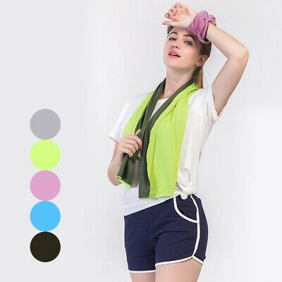 Summer Sports Towel Cool Feeling Fitness Gym Training Sweat Towel Exercise Cloth
