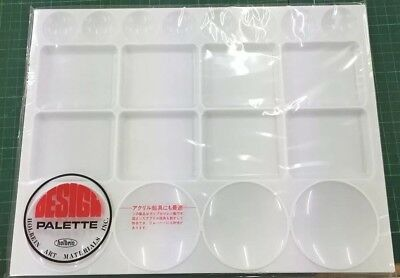 Holbein Medium White Plastic Palette -  254 x 330mm - Suitable for all Mediums