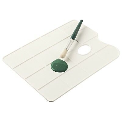 Educational Colors - No. 6 White Non Staining Flat Plastic Mixing Palette