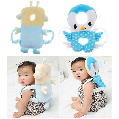 Baby Toddler Head Protection Pad Headrest Pillow Neck Baby Pillow With Straps