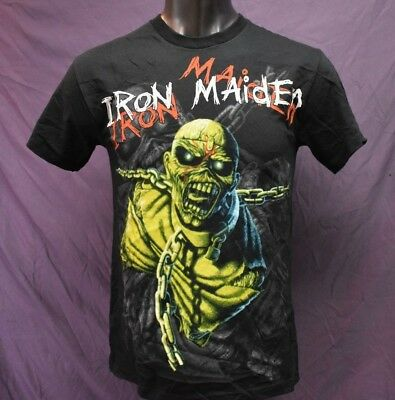 Mens Iron Maiden Piece of Mind Shirt New S, M