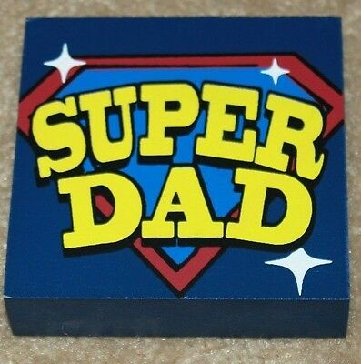 BEST SUPER DAD Father\'s Day gifts Office Wooden signs plaques Block ...