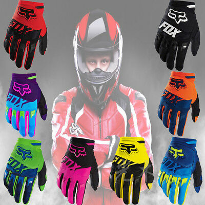 Fox Racing Bomber Motocross Riding Outdoor Gloves Motorcycle Bike Cycling Gloves