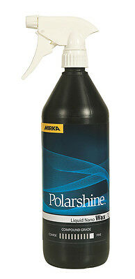 Mirka Polarshine Liquid Nano Wax Liquid Wax 1000 ML for Fast Sealant