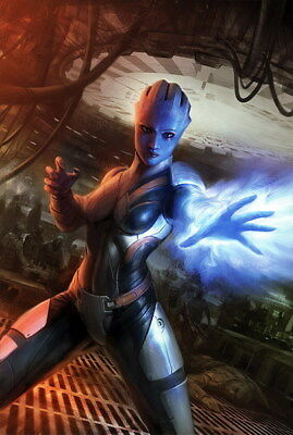 """131 Mass Effect 3 - ME Killer Fighting Shooting Hot TV Game 24""""x35"""" Poster"""