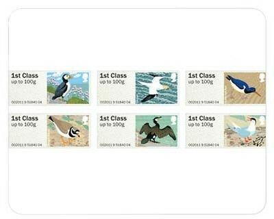 Engeland 2011 Birds of Britain  post & go stamps 4  postfris/mnh