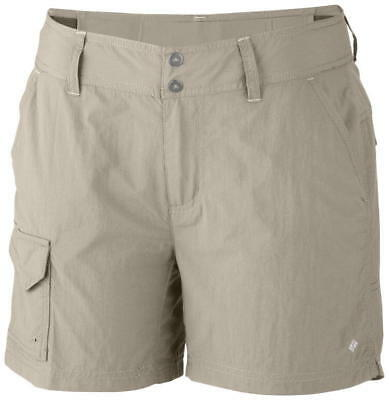 Columbia Silver Ridge Shorts Fossil 5 Inch Inseam, Women's