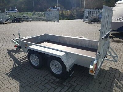 Indespension AD2000 4 Wheel Plant Trailer