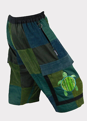 Classic Patchwork Shorts with Terrapin embroidery