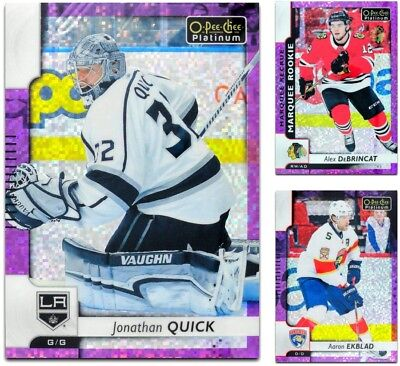 2017-18 OPC Platinum Violet Pixels **** PICK YOUR CARD **** From The List