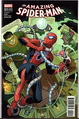 Amazing Spider-Man (4th Series) #21 Paolo Rivera Variant Cover 1:25
