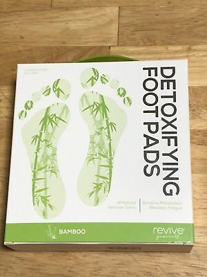 Revive Yourself Detoxifying Foot Pads 10 Count (5 Pair) Bamboo