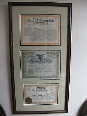 1921 Rauch & Lang Chicopee Ma Electric Automobile Stock Certificate