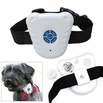 Dog Pet Stop Barking Anti Bark Training Ultrasonic Collar - FAST DISPATCH