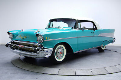 1957 Chevrolet Bel Air/150/210  1957 Chevrolet Bel Air Convertible, 1000 Miles since Rotisserie Restoration.