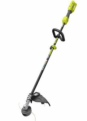 "Ryobi RY40202 40V X Lithium-Ion Cordless Twisted Dual Line String 15"" Trimmer"