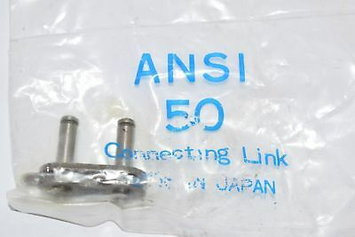 Lot of 3 NEW ANSI 50 Chain Connecting Link ANSI-50