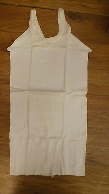 Vtg 60s NOS Girls Sz 10 Spaghetti Strap Undershirt by Vanta USA made T-shirt
