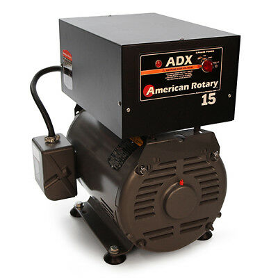 American Rotary ADX15FM |Floor Mount ADX Series 15HP Rotary Phase Converter 240V