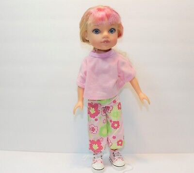 """Playmates 2010 Hearts for Hearts G2G Doll Lilian Belarus 14"""" Pre-owned"""