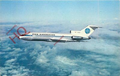 Picture Postcard-:PAN AMERICAN BOEING 727 [AIRLINE ISSUE]