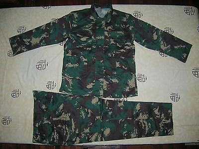 07's series China PLA Special Forces Digital Camouflage Combat Jacket,Pants