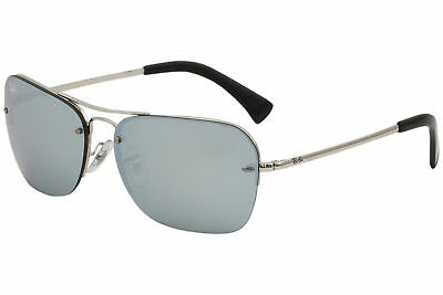 1e038139ff Ray Ban Men s RB3541 RB 3541 RayBan 003 30 Silver Fashion Square Sunglasses  61mm