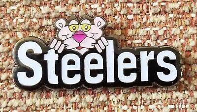 Pink Panther Pittsburgh Steelers Collectors Pin