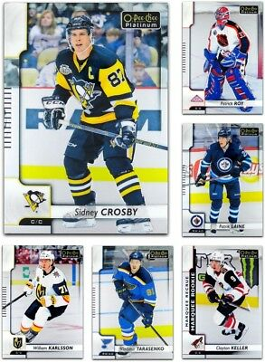 2017-18 OPC Platinum BASE & ROOKIES **** PICK YOUR CARD **** From The SET