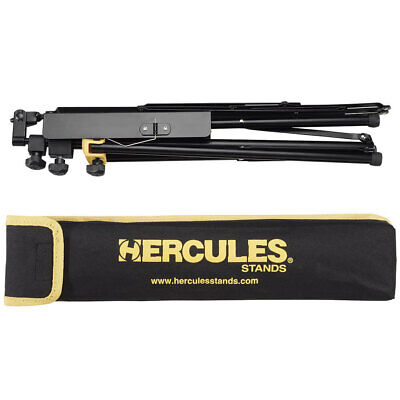 Hercules Lightweight Music Sheet Stand Adjustable Folding Tripod Holder w/ Bag