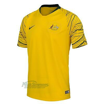 NEW Socceroos 2018/19 Men's Home Football Jersey by Nike