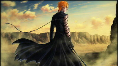 "187 Bleach - Dead Rukia Ichigo Fight Japan Anime 42""x24"" Poster"
