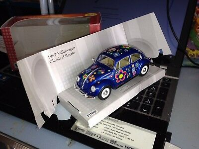 Kinsmart Volkswagen Beetle Kafer Coccinelle Maggiolino Hippies Frieden And Love