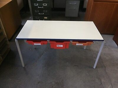 Reclaimed Children's Stacking Tables, School, Infant, Play, Club, Gratnell Trays