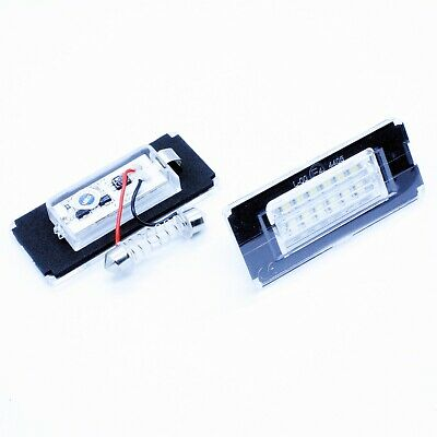 2x LED LICENSE NUMBER PLATE LIGHT MINI R56 R57 R57 R58 R59 CANBUS