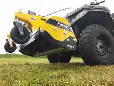 ATV FLAIL MOWER - Front Mounted, Made in Finland, Rammy Flail Mower