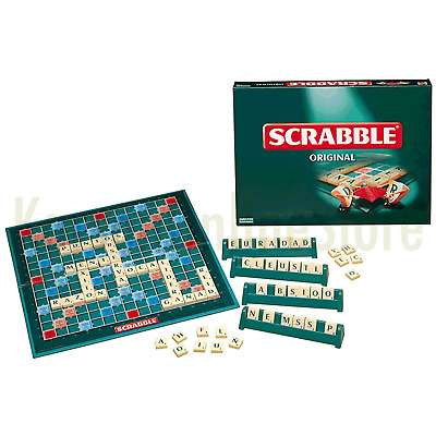 NEW Scrabble Original Board Game Kid Adult Educational Family Party Game Gift
