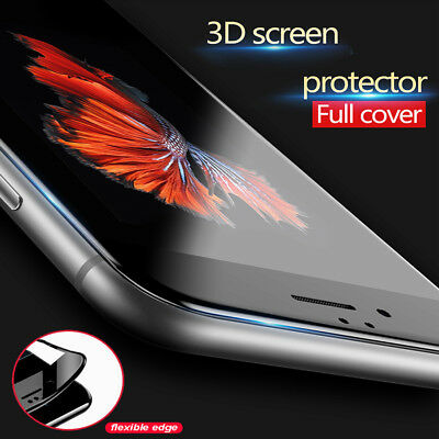 3D Tempered Glass Full Coverage Screen Protector Apple iPhone 8 8+ 7 7+ 6s+ 6+ X