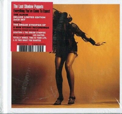 THE LAST SHADOW PUPPETS - Everything you've come to expect ( + Bonus cd /Sealed)