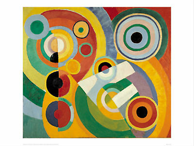 Joy of Life - Robert Delaunay - Fine Art Giclee Print Poster (Various Sizes)