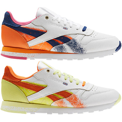 995ae4daf2bc REEBOK CLASSIC LEATHER Montana Cans MEN S RUNNING SHOES LIFESTYLE COMFY  SNEAKERS