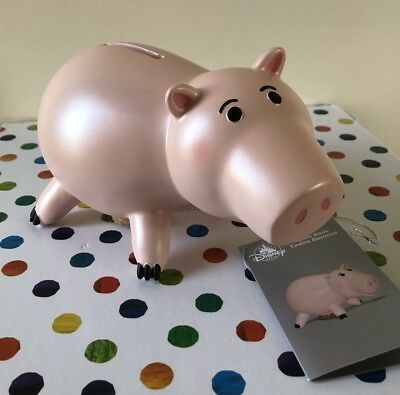 Disney Store Hamm Toy Story Piggy Bank Money Box
