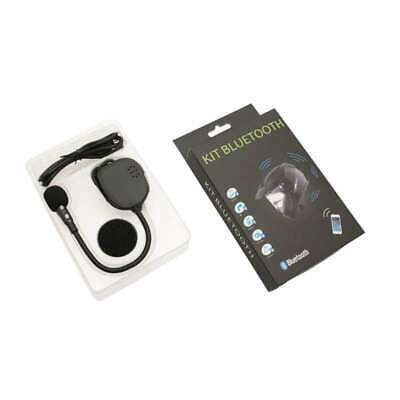 Kit Bluetooth Mains Libre 1 Casque Moto Bone Technologie Tel/Mp3/Fm/Intercom/Gps