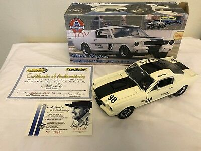 1:18 1965 Shelby G.T. 350R Carrol Shelby Signed - Essex Wire - Rick Kopec