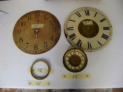 Antique Collection of Grandfather Clock Dials etc.