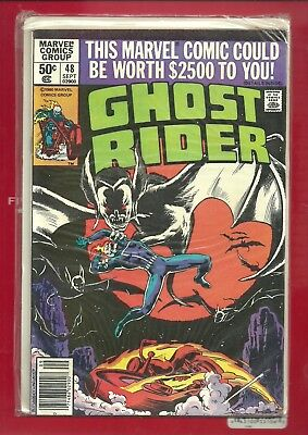 GHOST RIDER # 48 Bronze Age DRACULA APP. HIGH GRADE VF