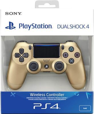 Sony Official Dualshock 4 Controller (GOLD) (PS4) NEW & SEALED Fast Dispatch