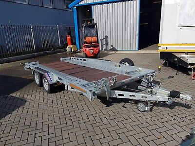 Indespension CT27147 Fixed Bed Car Transporter Trailer