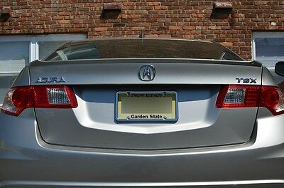 PAINTED REAR SPOILER FOR AN ACURA TSX FACTORY STYLE LIP 2009-2014